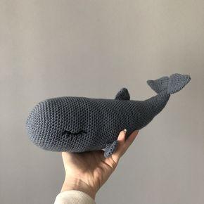 Amigurumi Pottwal Häkeln Moby Amigurumi Fisch Häkeln