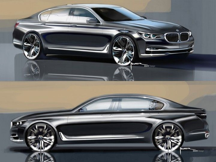 The New Bmw 7 Series Evolutionary Design And High Tech