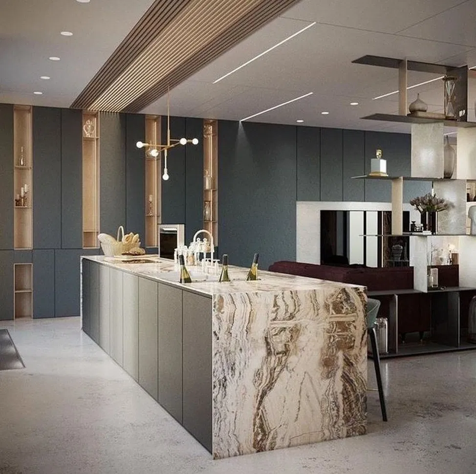 Feng Shui Cuisine Ouverte 42+ kitchen island ideas to add that perfect blend of drama