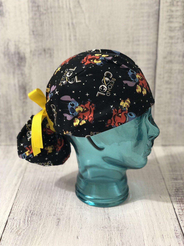 Custom Scrub Hat Women Celebration Fabrics