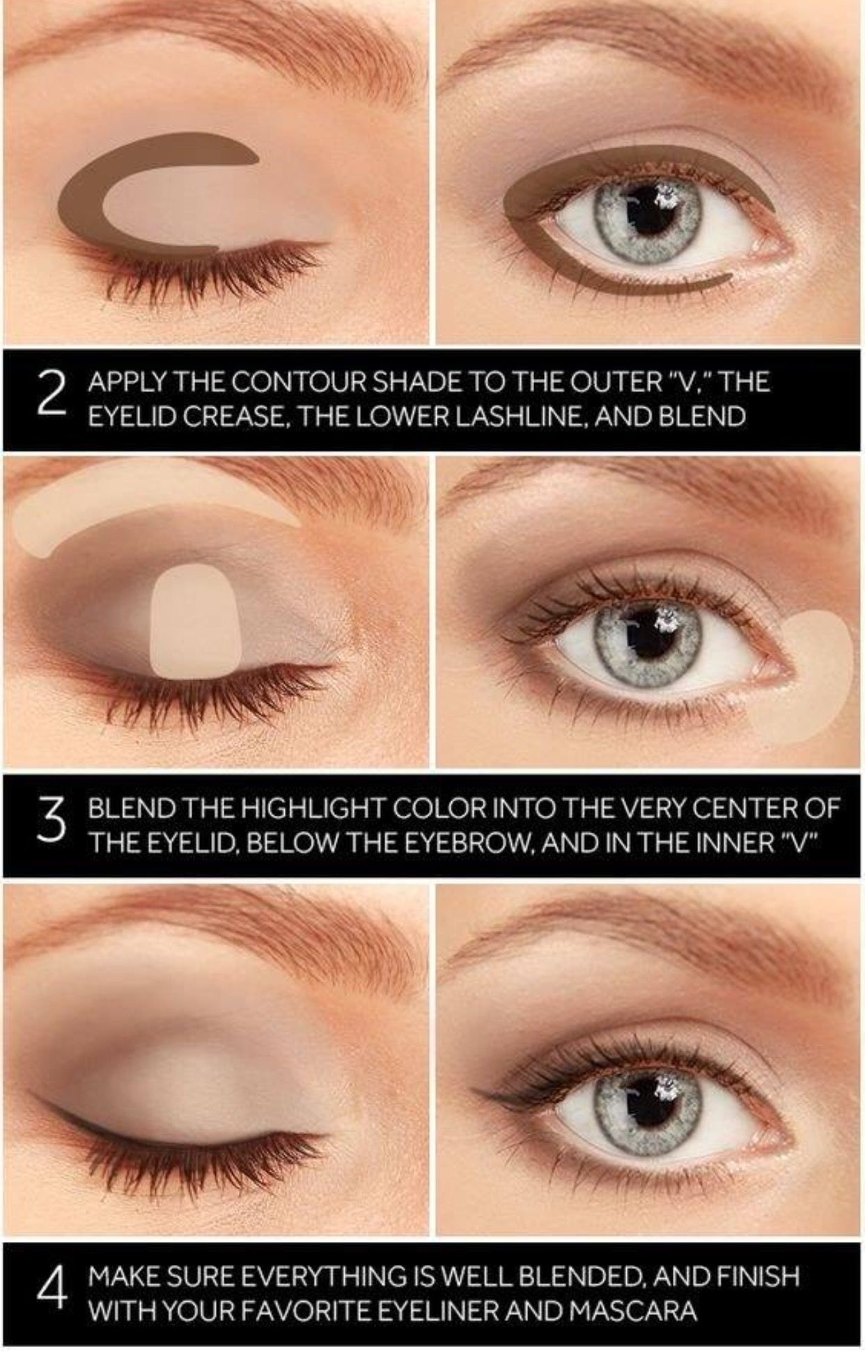 How To Apply Eye Shadow Lauren B Montana