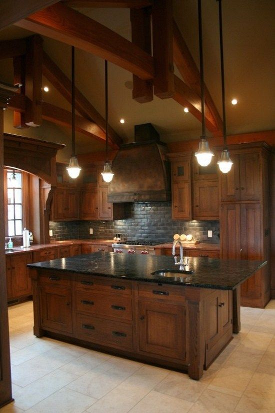 101 awesome craftsman kitchen design ideas (1)