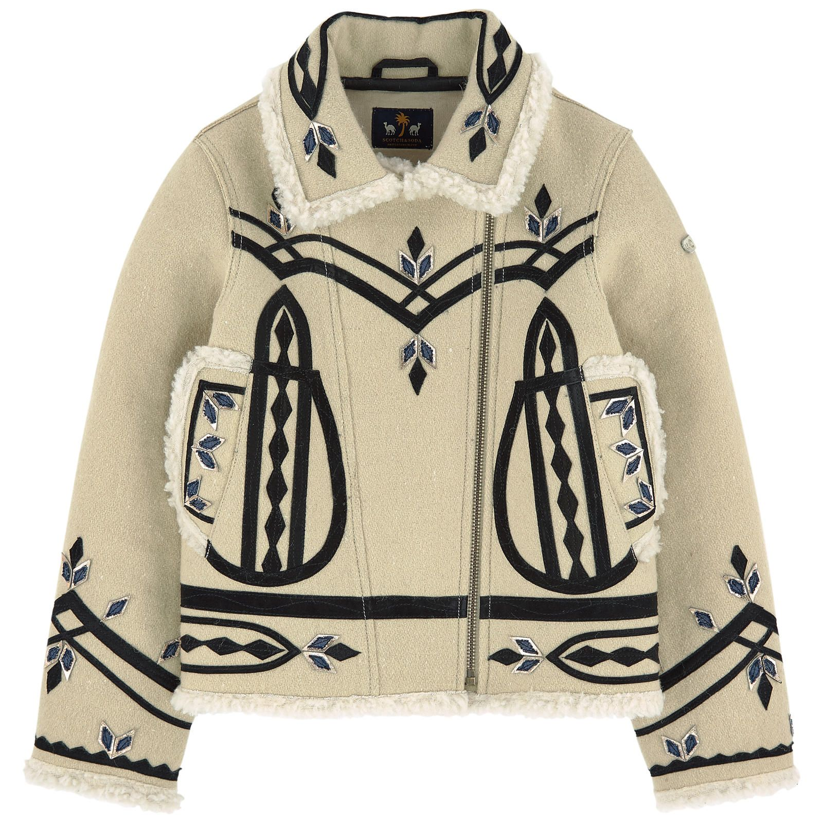 SCOTCH & SODA Куртка из шерсти