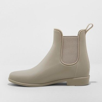 0935277b0f7 Women s Chelsea Rain Boots - A New Day Gray 5 in 2019