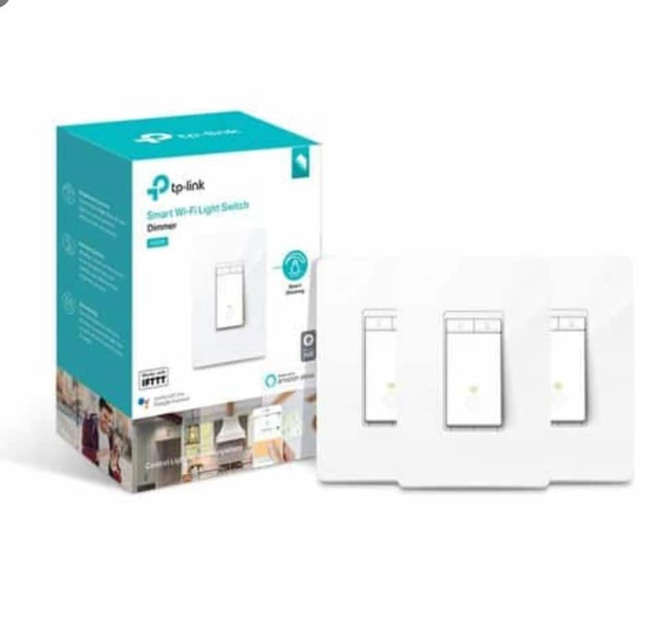 Coupons 3 Pack Tp Hyperlink Hs220p3 Kasa Resplendent Dimmer Wifi Light Switch 44 40 Free Transport In 2020 Smart Wifi Tp Link Smart Dimmer Switch