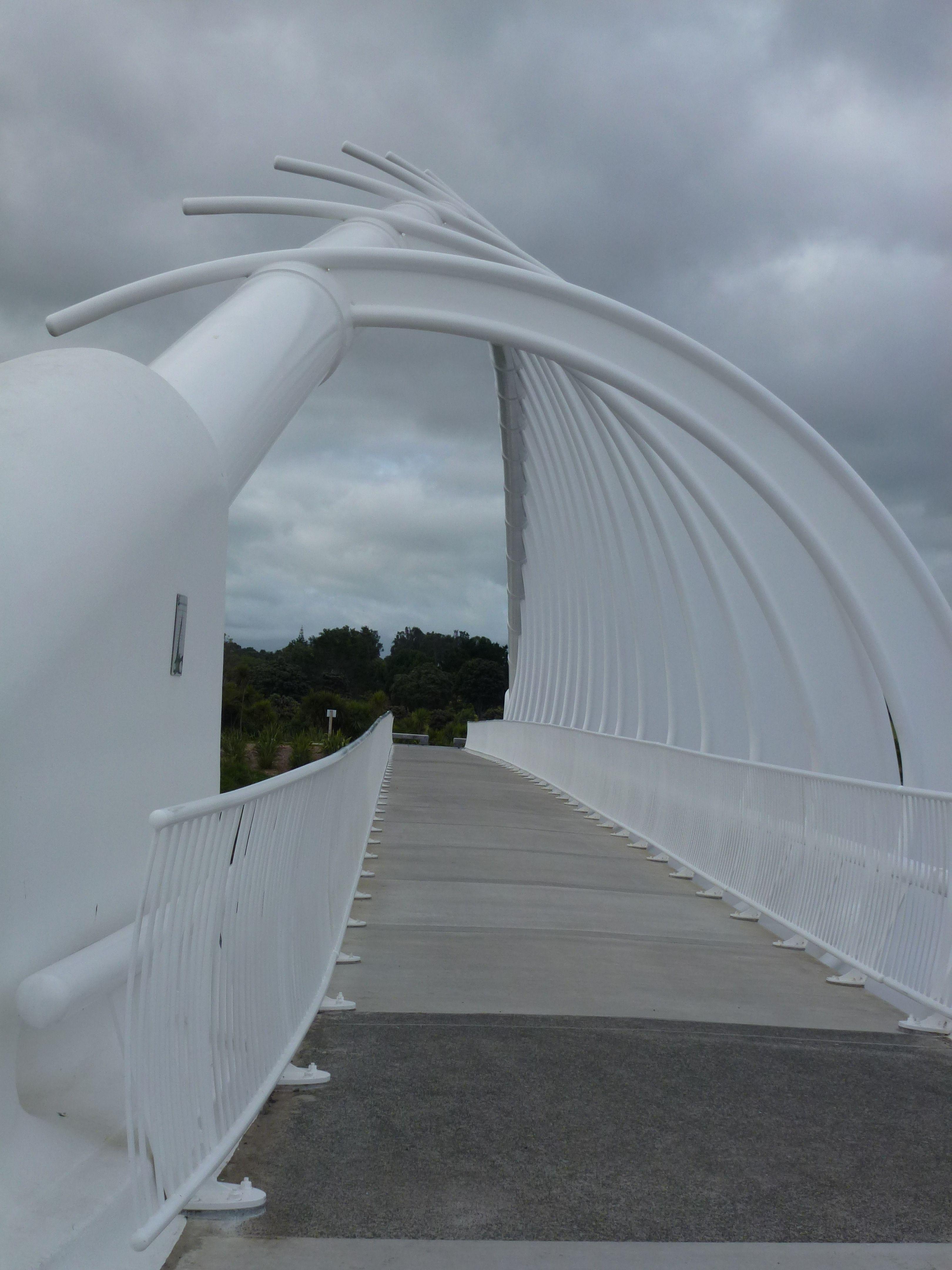 Rewarewa Bridge, New Plymouth, Taranaki, New Zealand