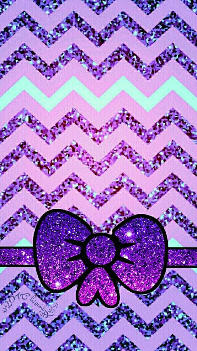 Cute Purple Mint Glitter Iphone Android Wallpaper I Created For The App Cocoppa Android Wallpaper Bow Wallpaper Glitter Iphone