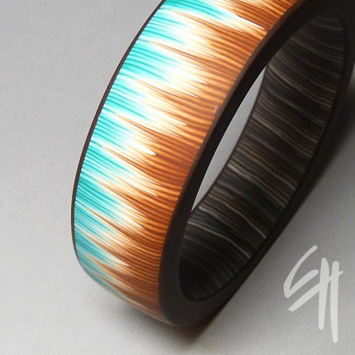 náramek Turquoise Stripes