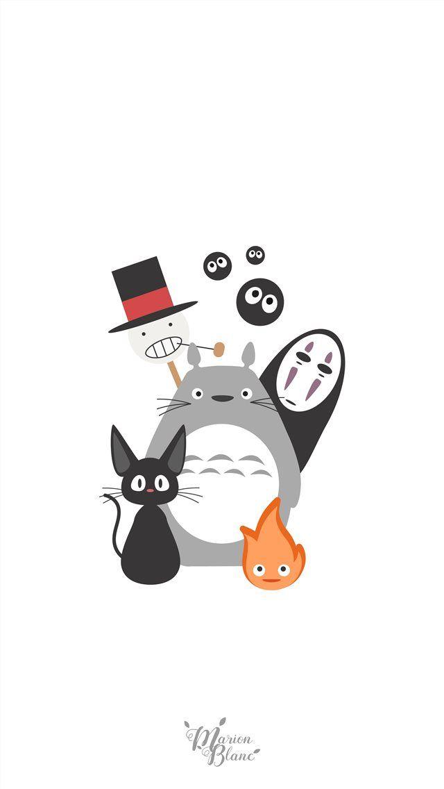 Studio Ghibli iPhone Wallpapers