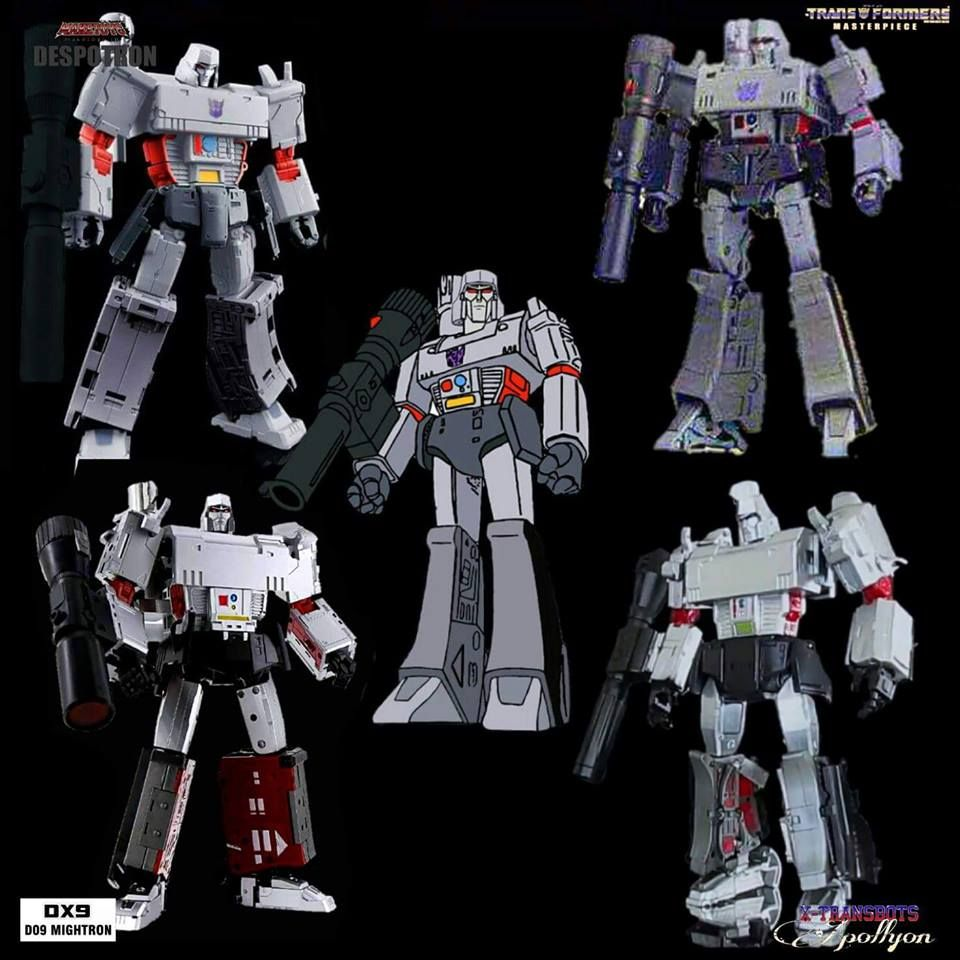G1 Megatron: Apollyon vs Mightron vs Despotron vs MP-36 ...