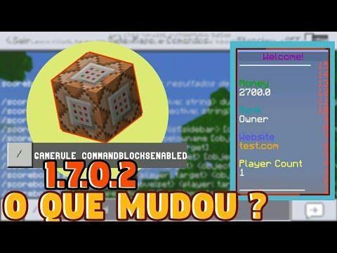 O QUE MUDOU MINECRAFT PE COMO USAR O SCOREBOARD E MUITO - Minecraft pocket edition server erstellen kostenlos