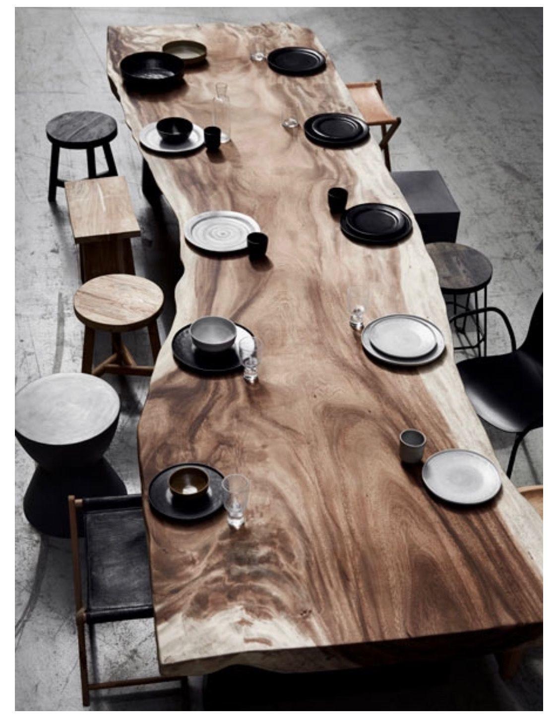 Legno Grezzo Per Tavoli pin di gabriela en el espacio su muebles | tavoli in legno