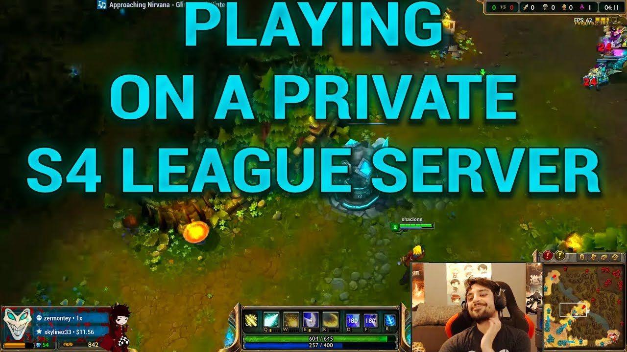League of Legends Season 4 PRIVATE SERVER (League of