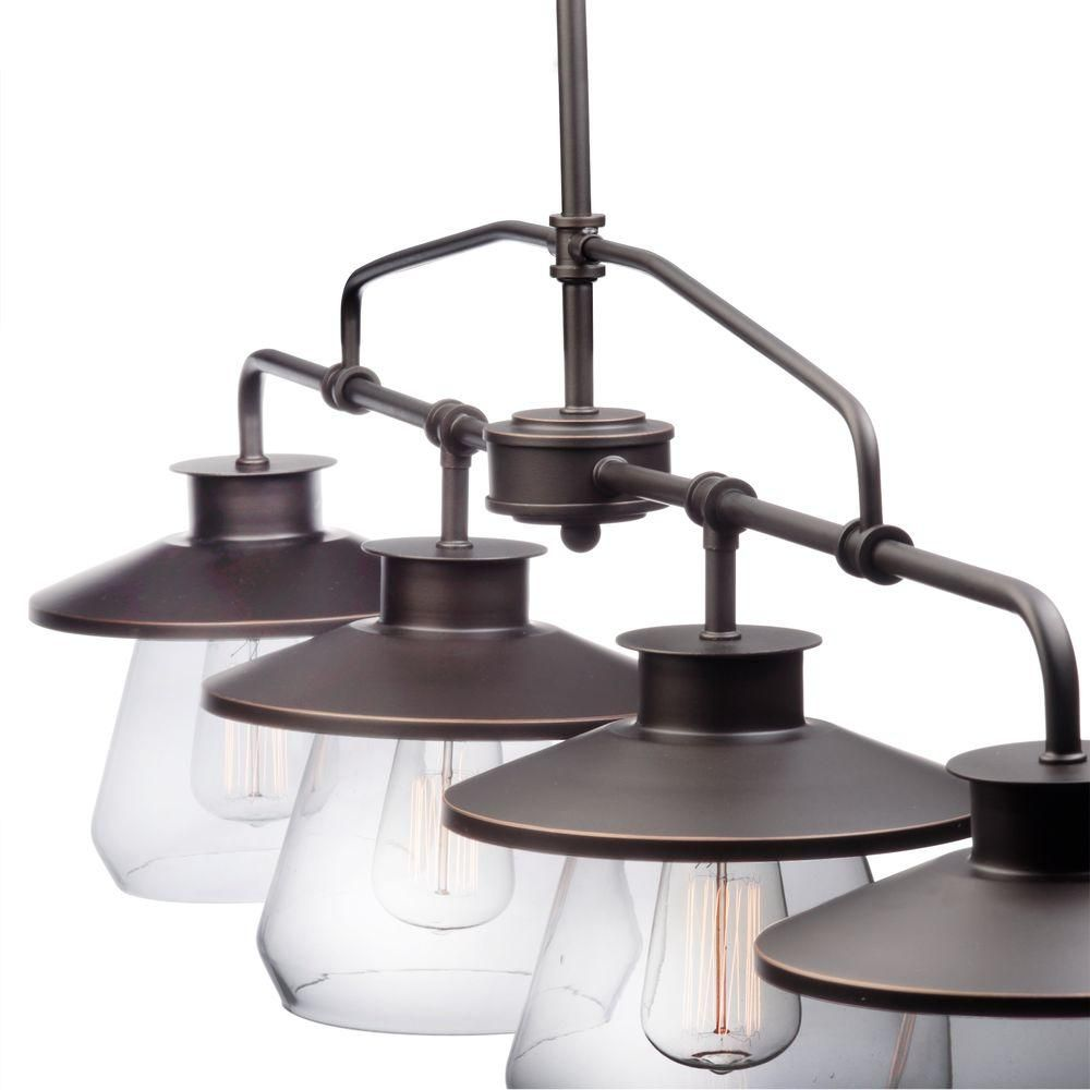 Globe electric angelina light oil rubbed bronze industrial vintage
