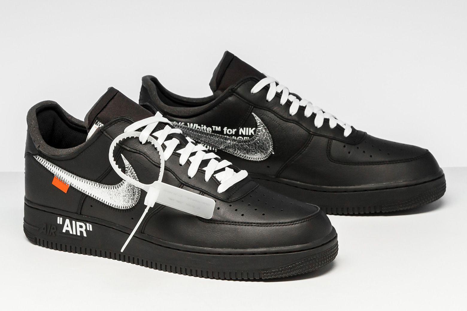 Nike Air Force 1 07 Virgil Off White Moma Av5210 001 Nike Sneakers Off White Shoes
