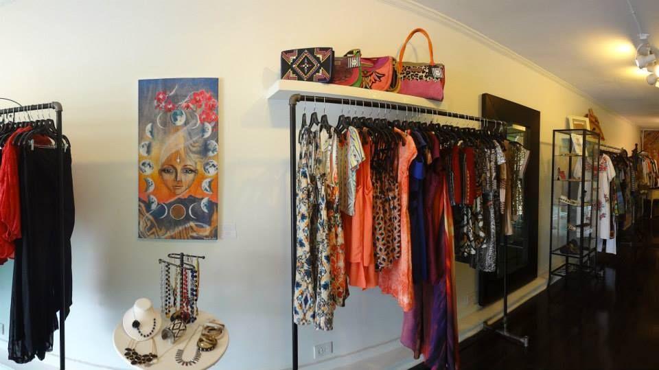 clothing rack style