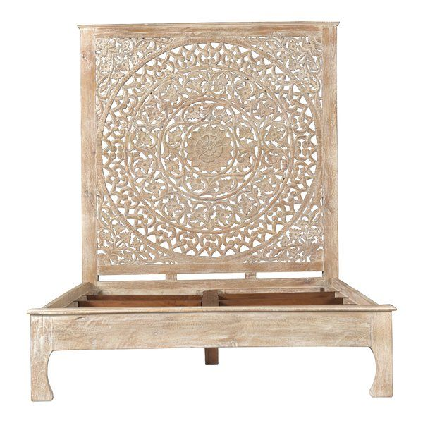 5042be0cb2 Alia Carved Queen Standard Bed in 2019 | ♔Home Decor for the Future ...