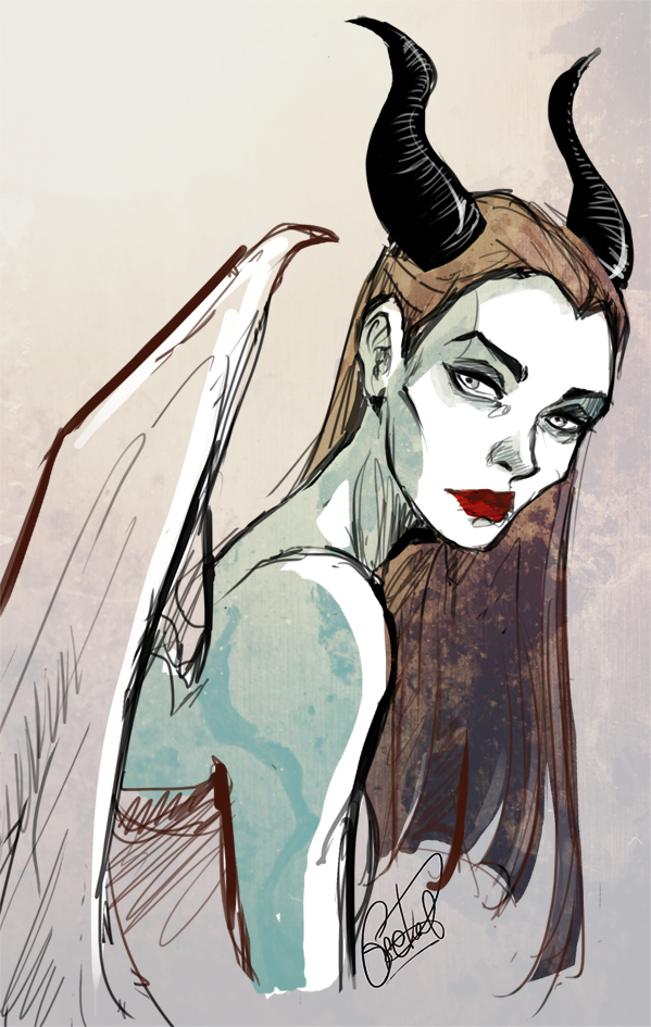 I know this is Maleficent, but I just keep seeing Magrigal