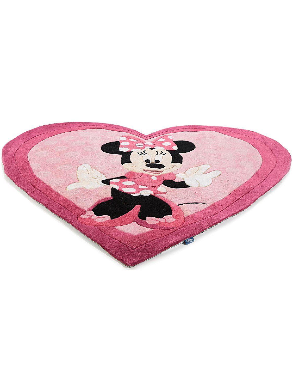 Werbung | Rosa Disney Teppich in Herzform. Toller ...