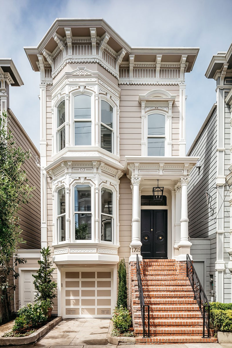 Modern Townhouse Townhouse Designs San Francisco: What Do Facades Of Famous San Francisco Townhouses Hide (With Images)