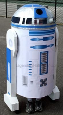 Star Wars R2D2 Costume- This is really what N wants to be- not sure if he would really wear it when the time comes but very neat.