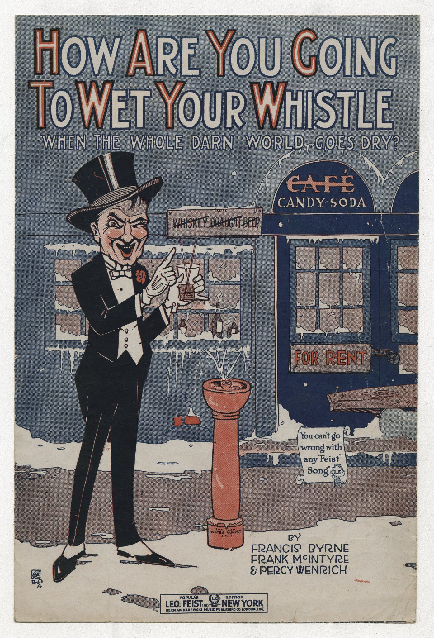 Prohibition posters 1920s