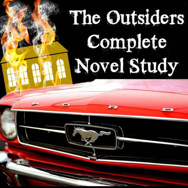 The Outsiders By S.E. Hinton Complete Novel Study. Author