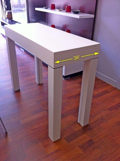 tavolo consolle apribile Maya Compact; Arredo Creativo | tavoli ...