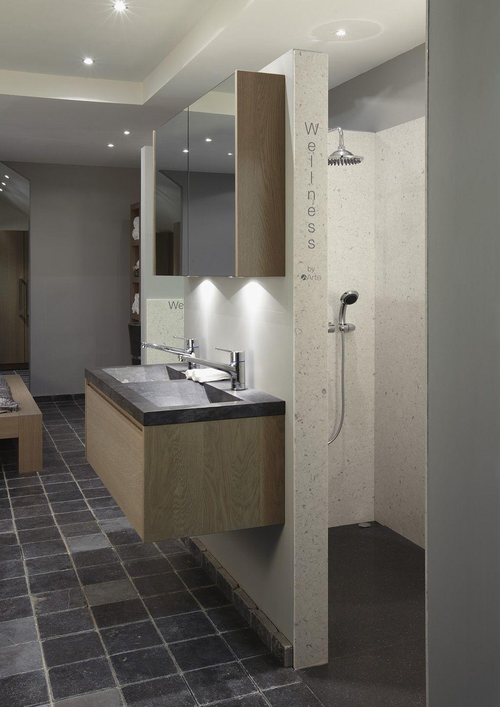 badmeubel eiken recht badkamers pinterest
