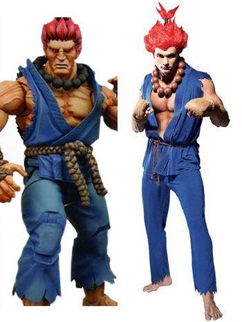 Cosplay Costume Street Fighter Akuma Adult Street Fighter