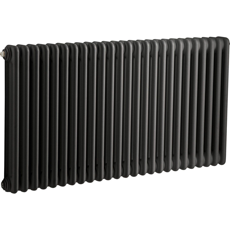 Radiateur Chauffage Central Tesi Noir L 112 5 Cm 1515 W Irsap