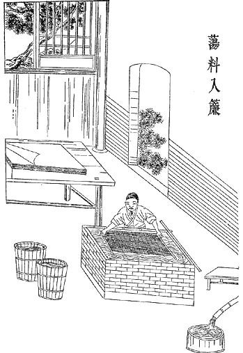 Pin on Echizen pulp vs. Xue Tao 薛涛笺 paper