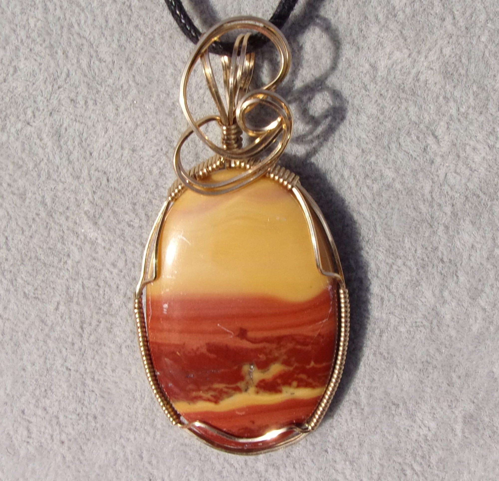 Petrified Peanut Wood Jasper Pendants Jewelry Supply Jasper Beads Healing Jasper Crystals for Wire-wrap Rings Peanut Wood Cabochon Stone
