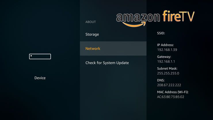 How To Find Amazon Fire Tv Ip Address Https Www Htpcbeginner Com Find Amazon Fire Tv Ip Address 2017 For Any Kind Of Hac Amazon Fire Tv Fire Tv Ip Address