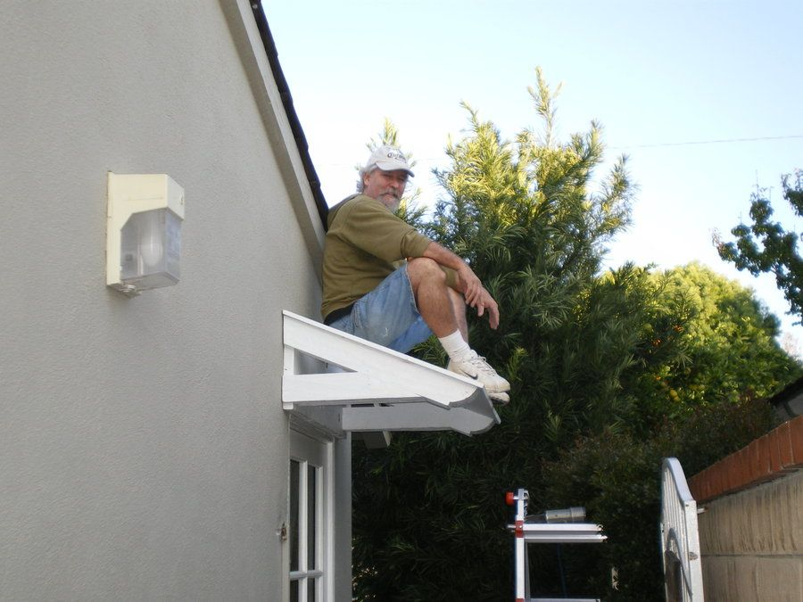Best A Small Roof For A Leaking Garage Door By Bobdurnell 400 x 300