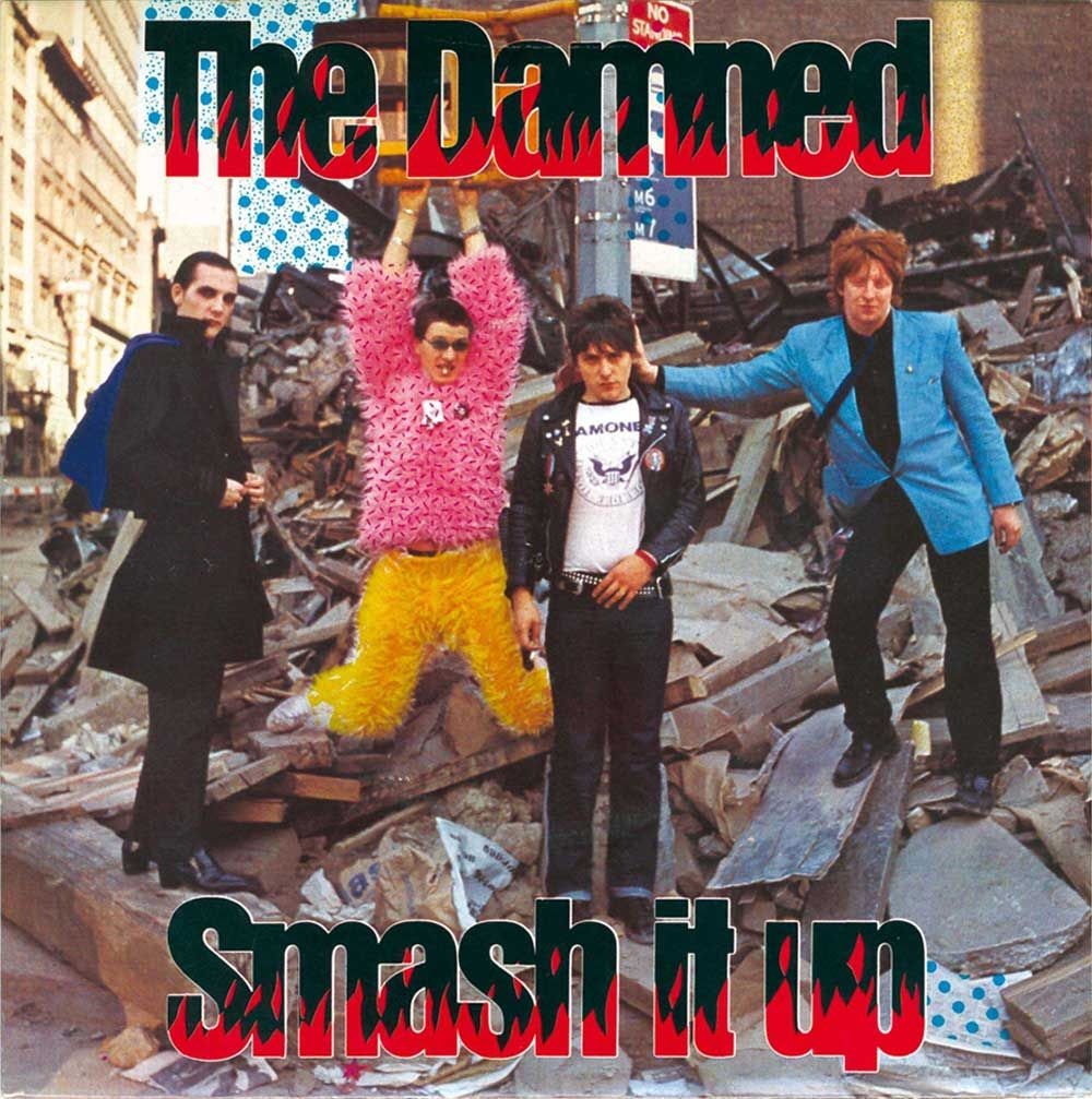 The Damned played Hurrah in September 1979  Description from