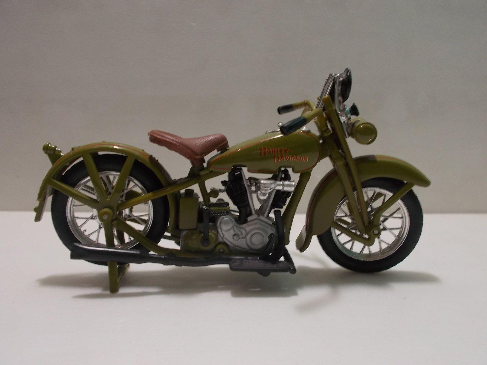 Harley Davidson Jdh Twin Cam 1928 Scale 1 18