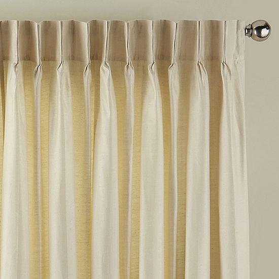 supreme pinch pleat patio door curtain