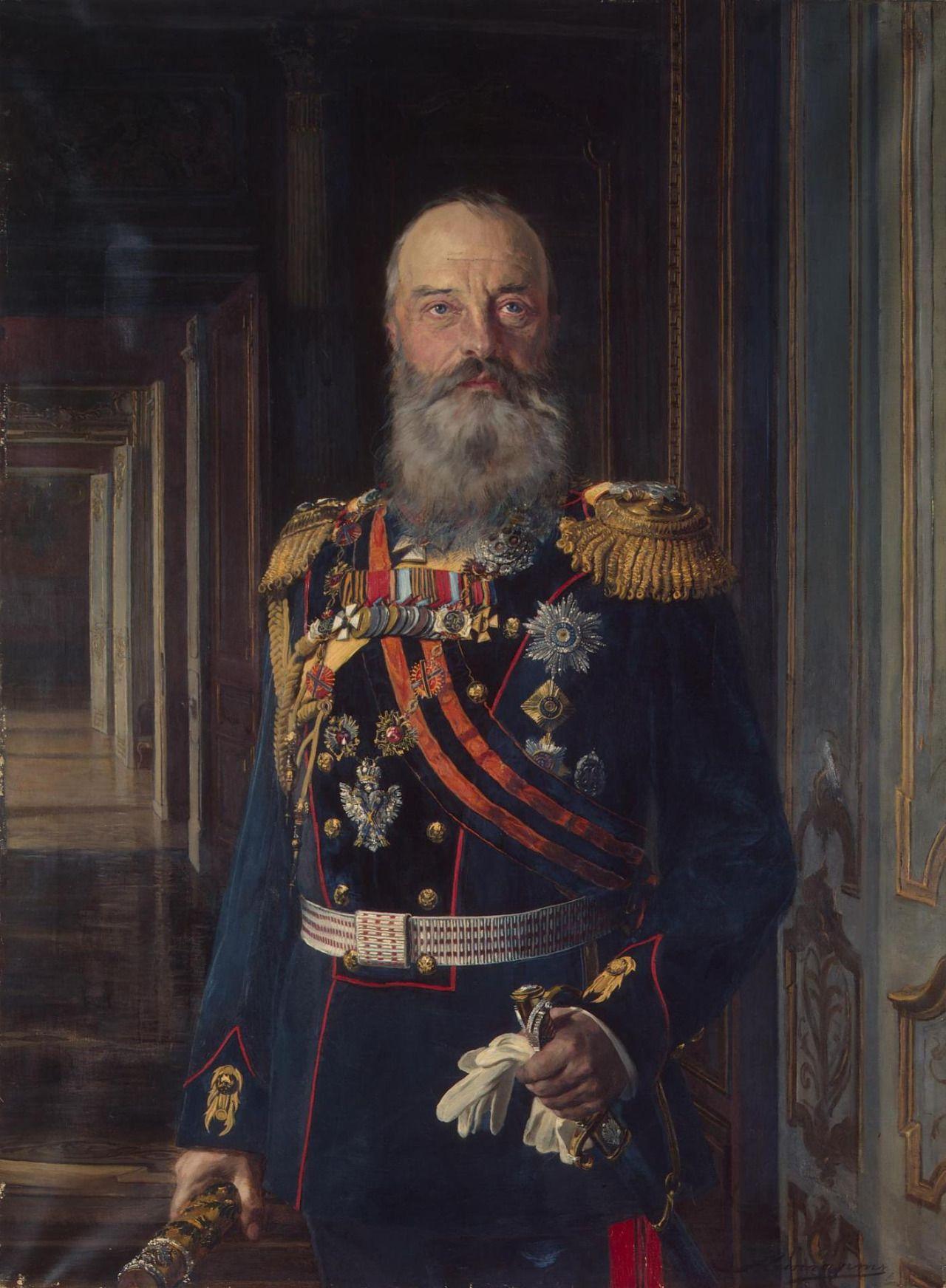 Portrait of Grand Duke Mikhail Nikolaevich Romanov of Russia in the 1910s.A♥W