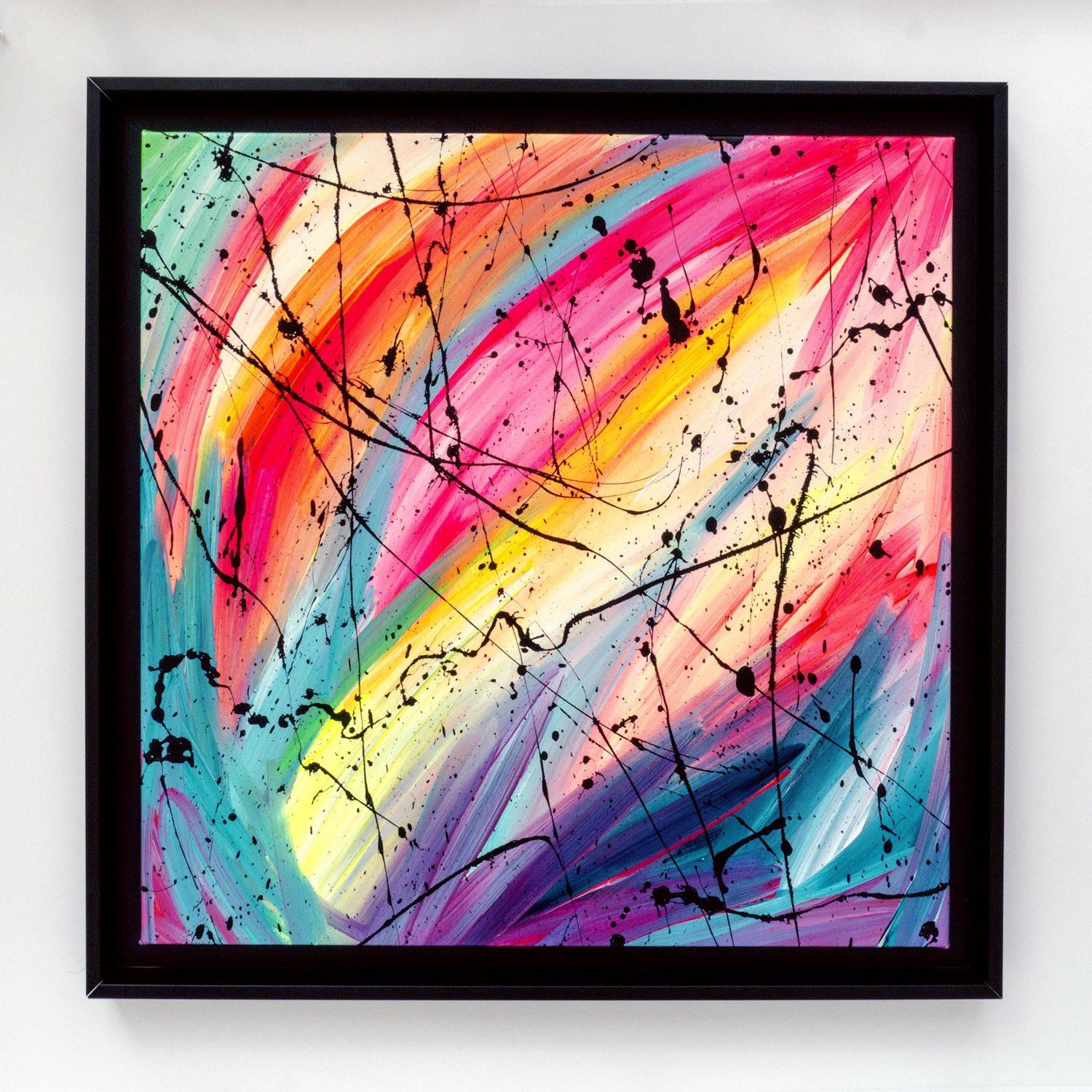 Original Vibrant Abstract Painting