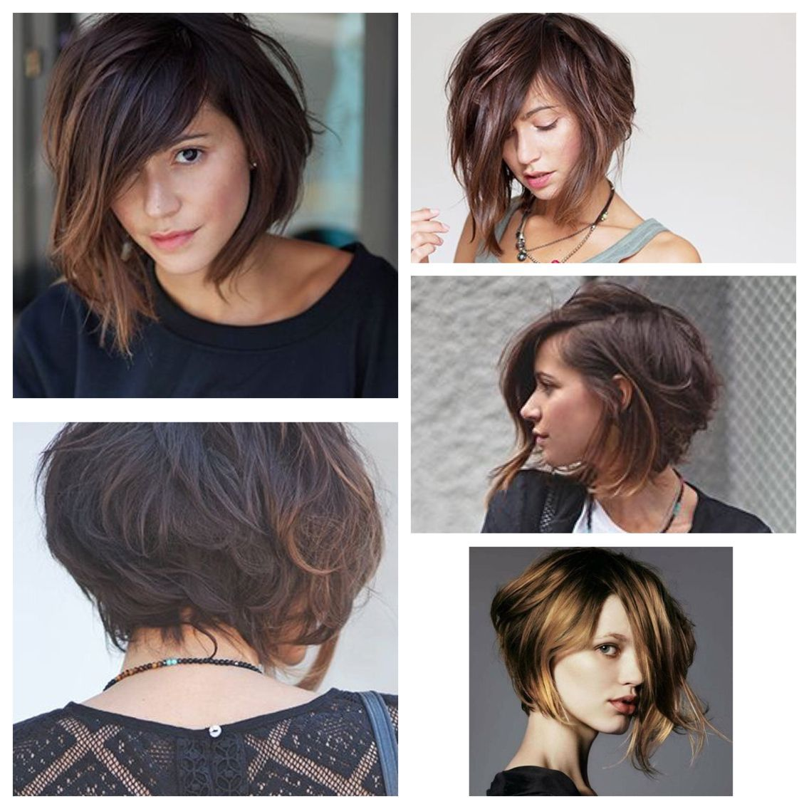 38 Short Layered Bob Haircuts With Side Swept Bangs That Make You Look Younger #shortlayeredhaircuts