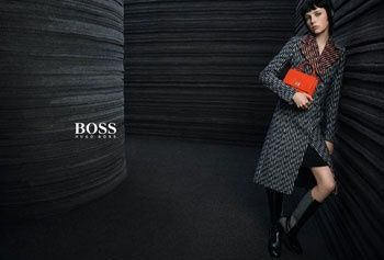 Edie Campbell en vedette de la prochaine campagne Hugo Boss http   fashions- f281378e8a95