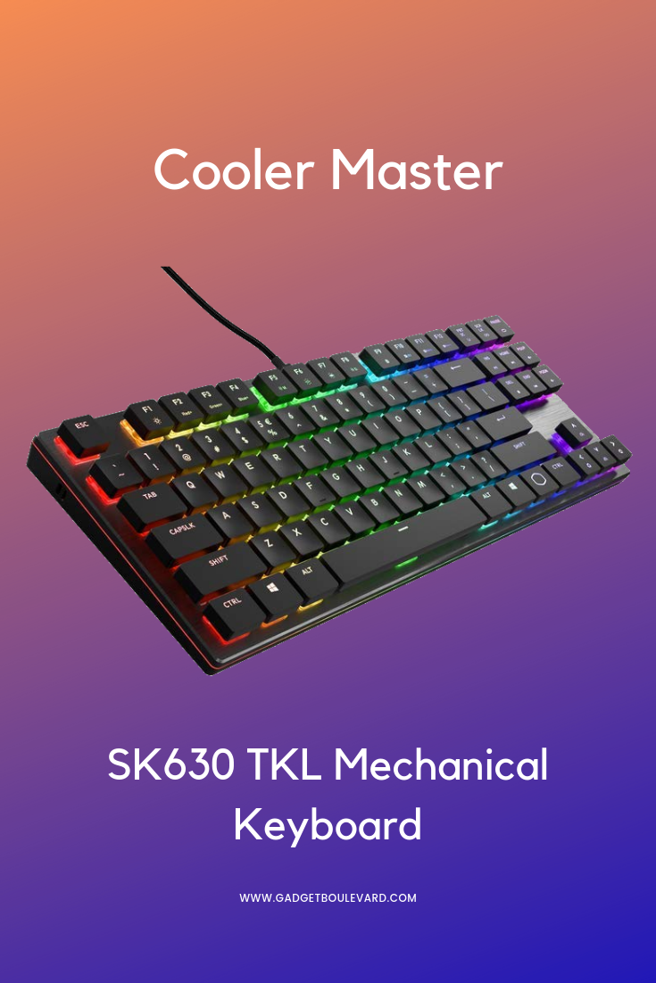 cooler master sk630