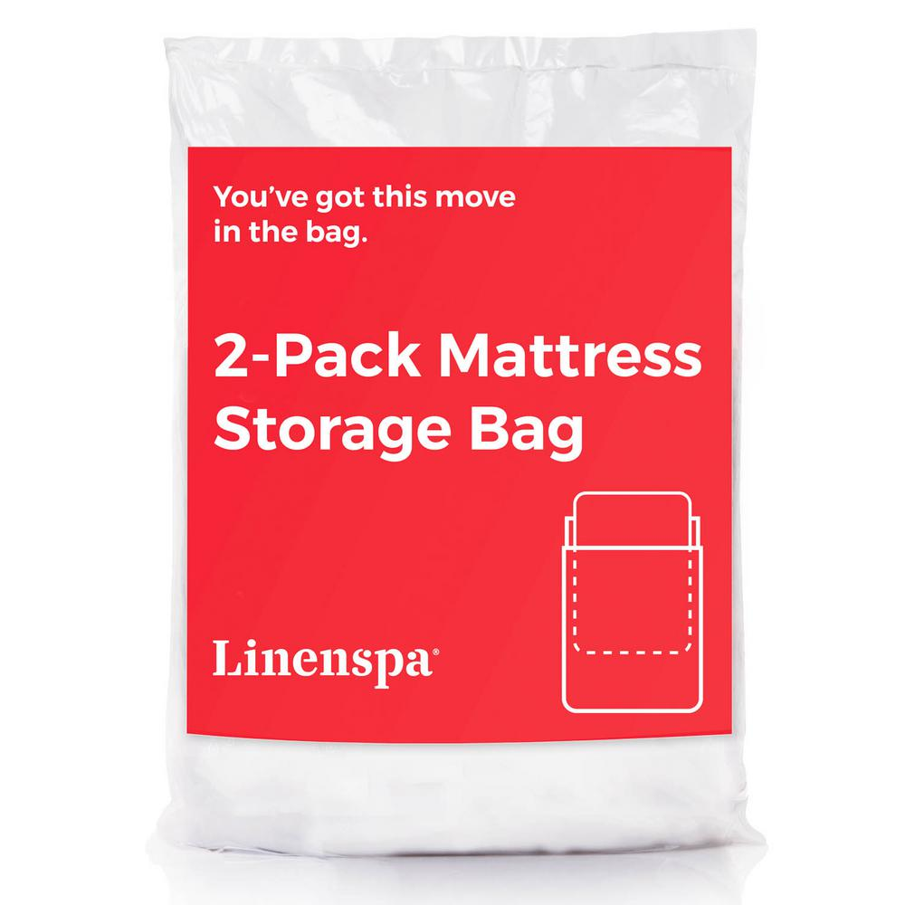 Linenspa Mattress Bag In Queen Pack Of 2 Ls02qqmb Mattress Storage Twin Xl Mattress Mattress