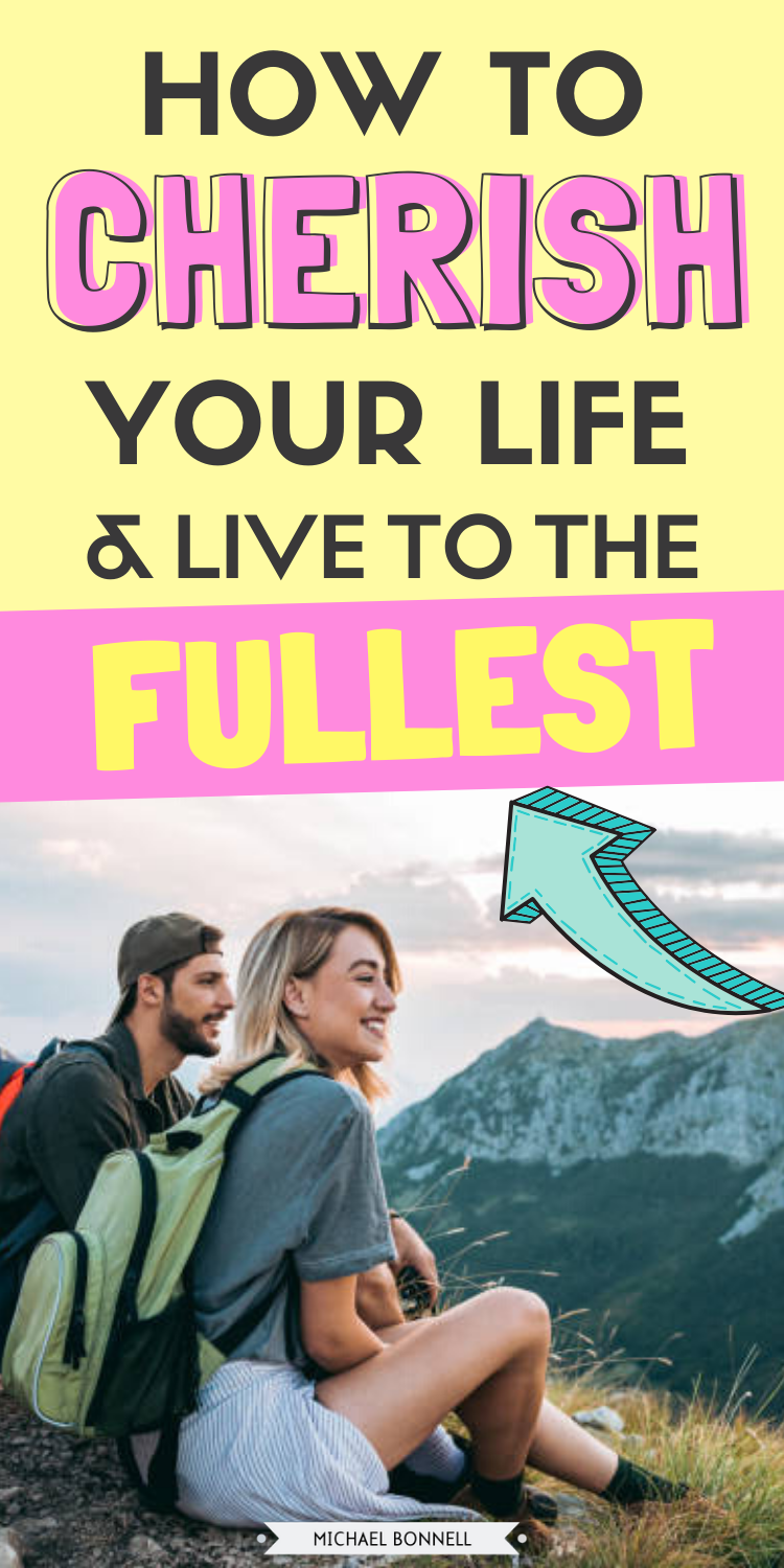 Find your excitement for life again! Break the cycle of a boring life and start living your best life with this guide that shows you exactly 8 ways to cherish your life and live your life to the fullest. #liveyourlife #liveyourlifetothefullest #liveyourbestlife #liveahappylife #becomeahappyperson #changeyourlife #betteryourself #selfimprovement #personalgrowth #personaldevelopment