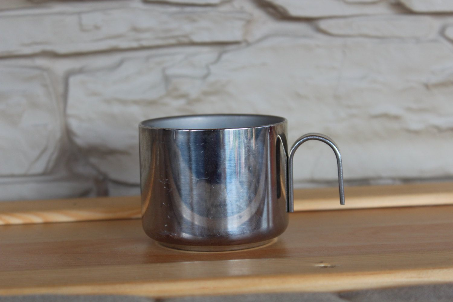Stainless Steel Espresso Cup Made In Italy Inox Coffee Cup Metal Cup Tea Metal Cups Espresso Cups Coffee Cups