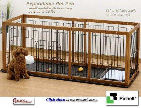 Dog Playpen - Indoor Dog Pen Expandable Dog Playpen Pinterest