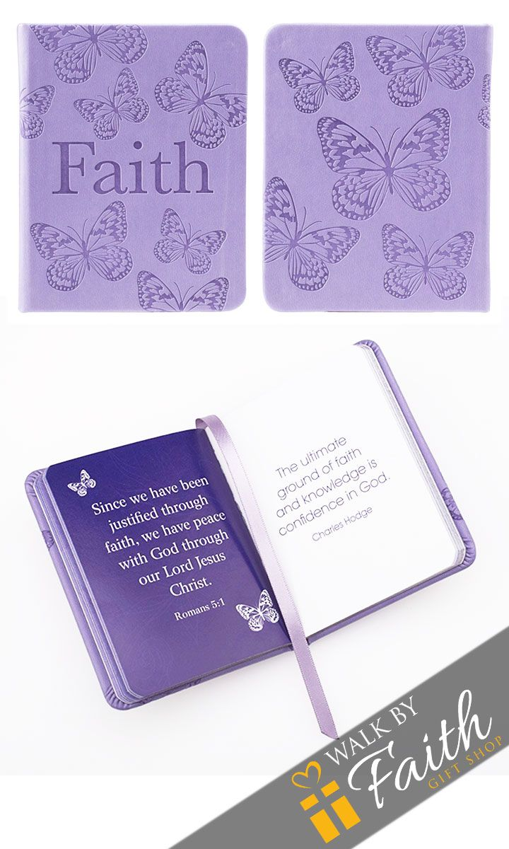 """Keep inspiration near you always with """"Pocket Inspirations"""" - charming collections of quotes and Scripture. Each subject offers refreshing messages to guide you through your days. The title """"Faith"""" an"""