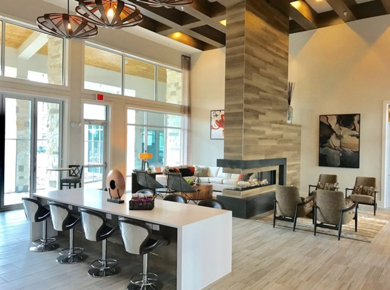 Clubhouse at Republic Place Luxury Apartment Homes in