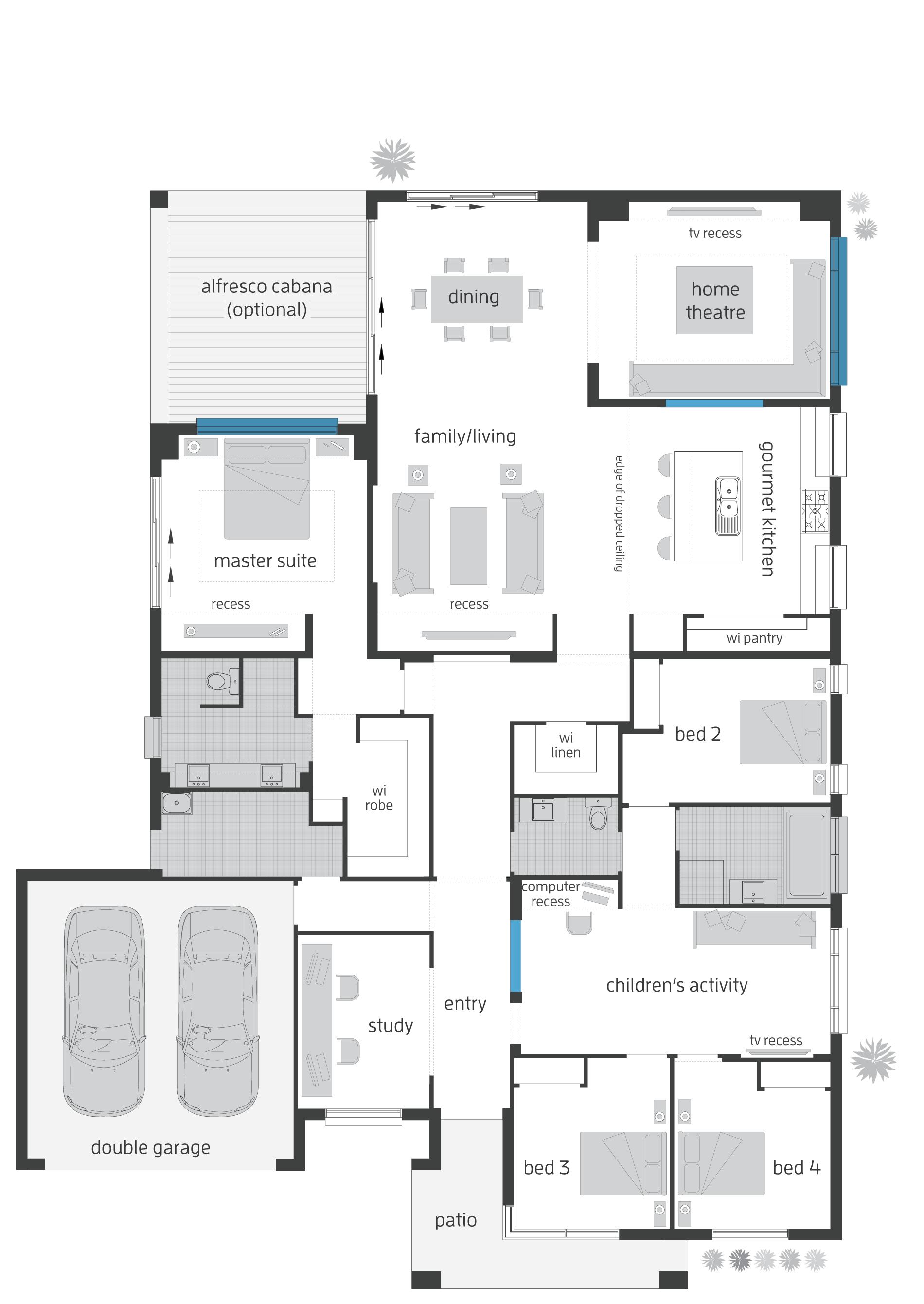 Monaco Floorplans House Plans Floor Plans How To Plan